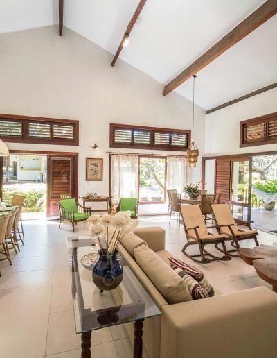Casa Areia Colorida - Sala