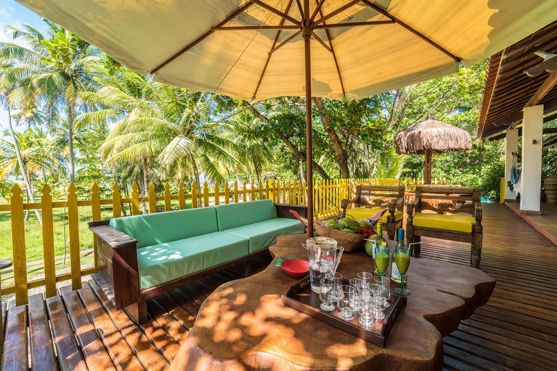 Casa Areia Colorida - Deck