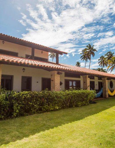 Casa dos Corais - Vista Externa