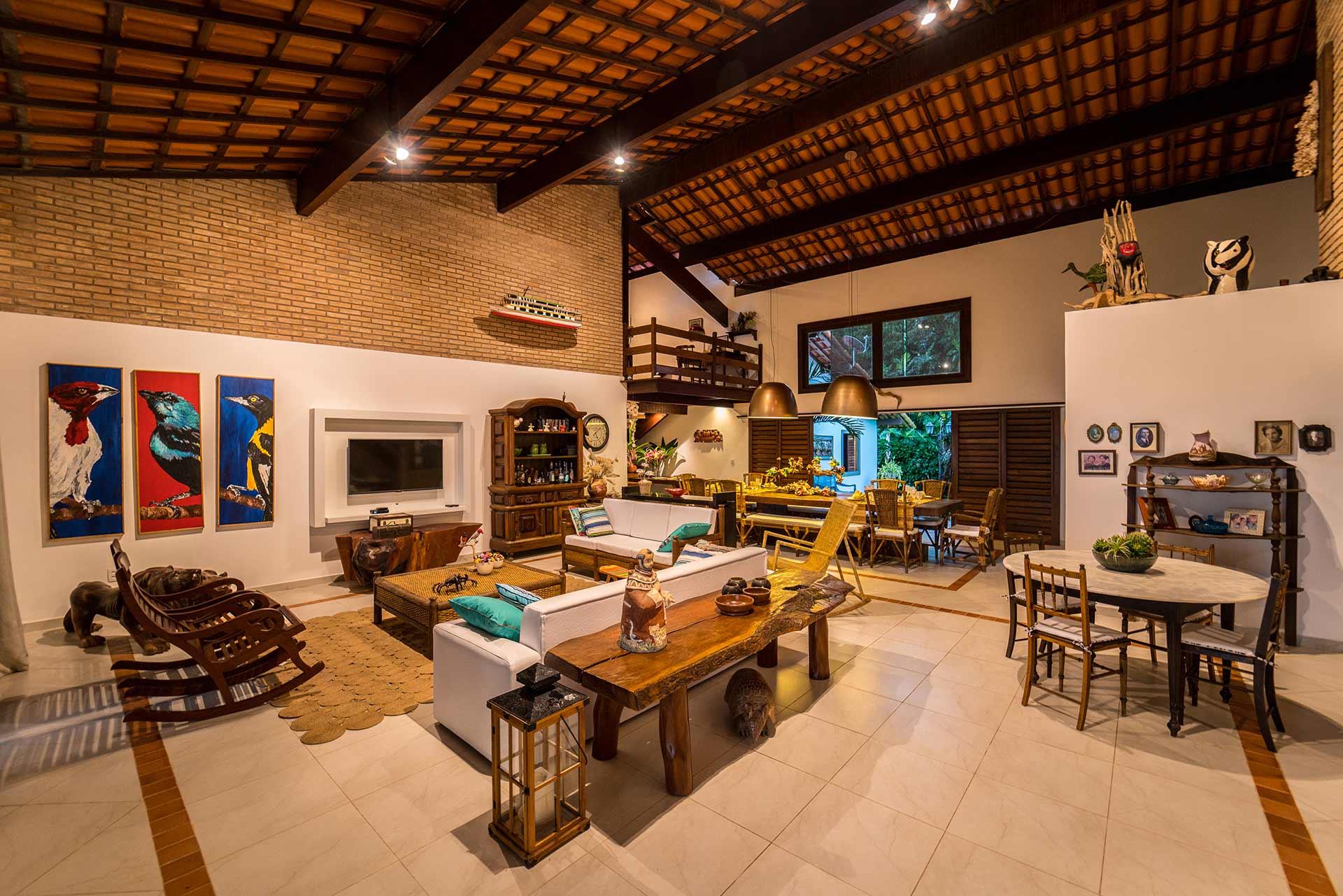 Casa dos Corais - Sala