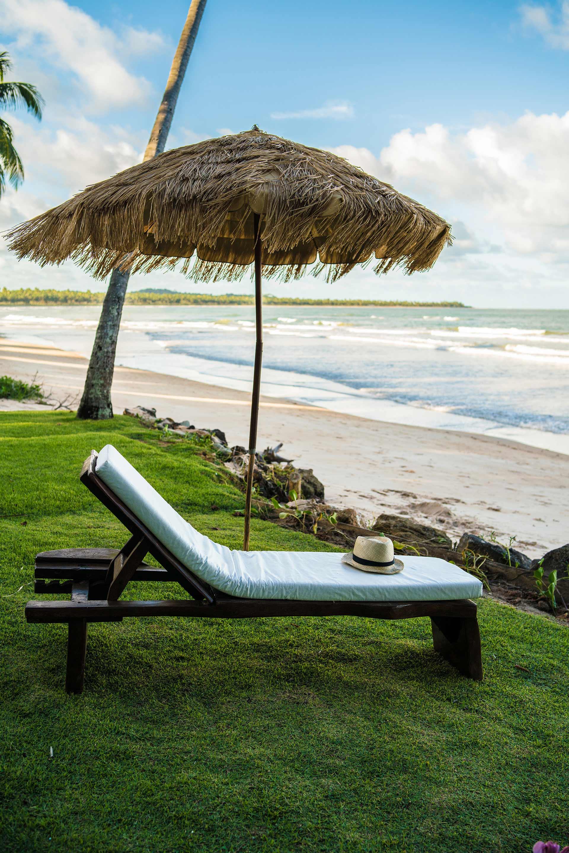Descanso perfeito na praia